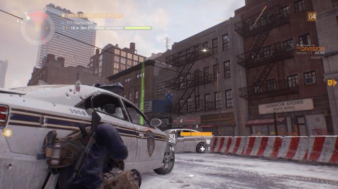 Typischer Straßenkampf in New York