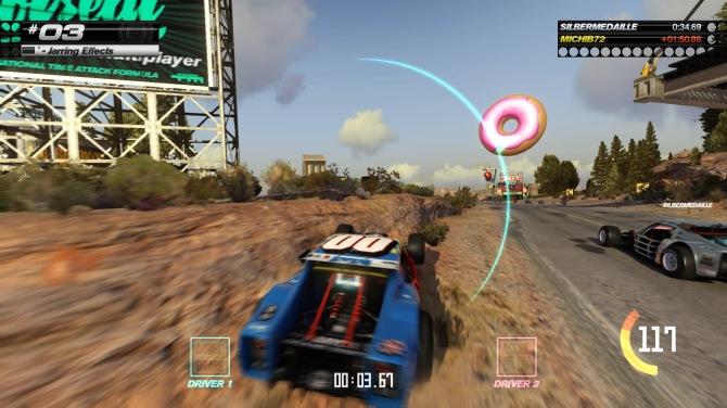 """Multiplayer Double Driver: zwei lenken das gleiche Auto und Trackmania """"nimmt den Durchschnitt"""""""